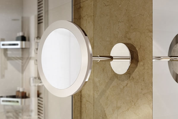 mirroir grossisant led